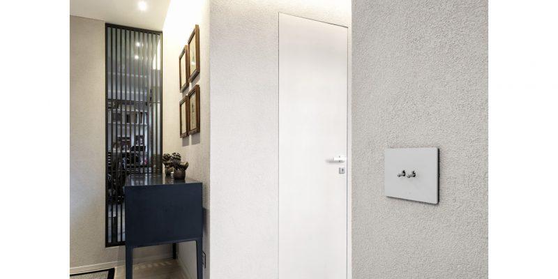 Interruttori a levetta AVE per un ricercato progetto d'interior design a Roma