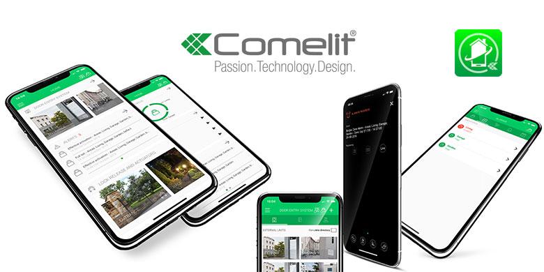 COMELIT App si rinnova: videocitofonia ed antintrusione in un unico touch