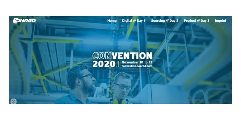 Convention Conrad: appuntamento online dal 10 al 12 novembre