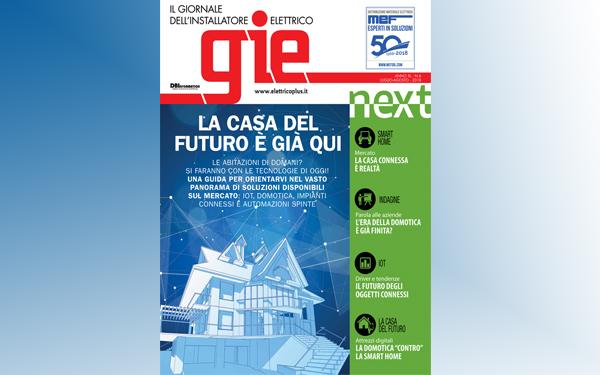 Sfoglia il numero di luglio/agosto di GIE – Il Giornale dell'Installatore Elettrico