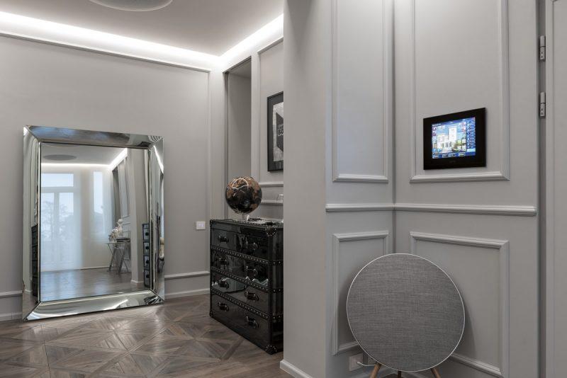 Una smart home con domotica AVE a Brescia