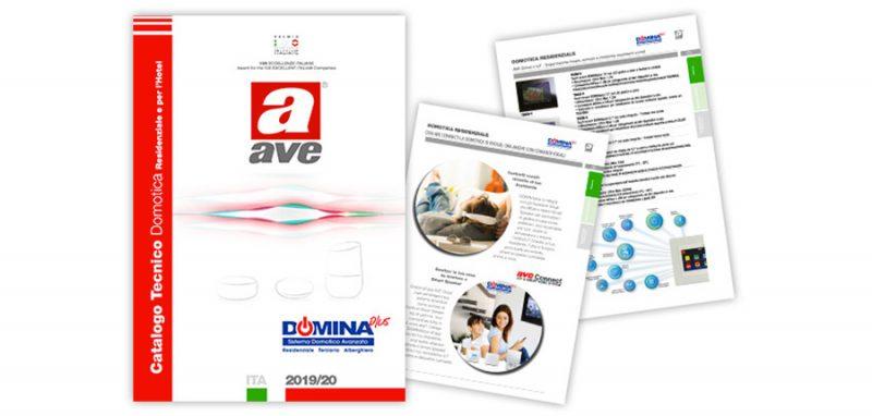 Nuovo Catalogo Tecnico DOMINA 2019-20 di AVE