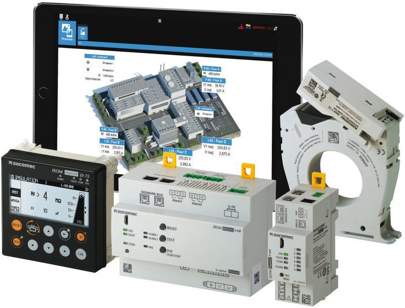 ISOM DIGIWARE, innovativo sistema di controllo d'isolamento per sistemi IT