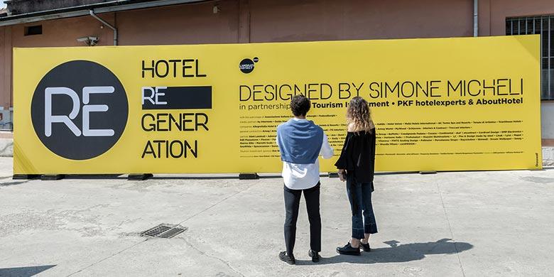 Simone Micheli ha scelto AVE per Hotel Regeneration