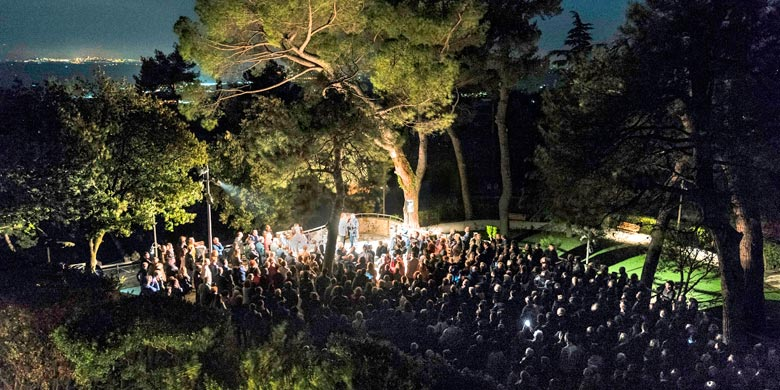 Parco del Colle dell'Infinito: iGuzzini progetta l'illuminazione intelligente
