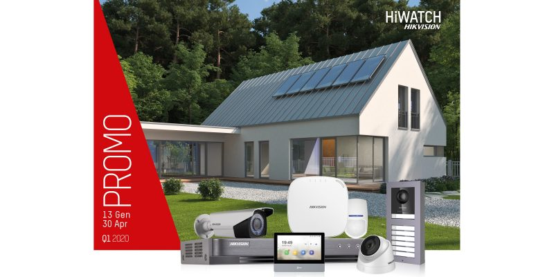 HiWatch di Hikvision: Videocitofonia 2 Fili in promo