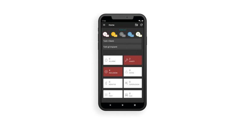 Inim Fire App: lo strumento per impianti sempre sotto controllo