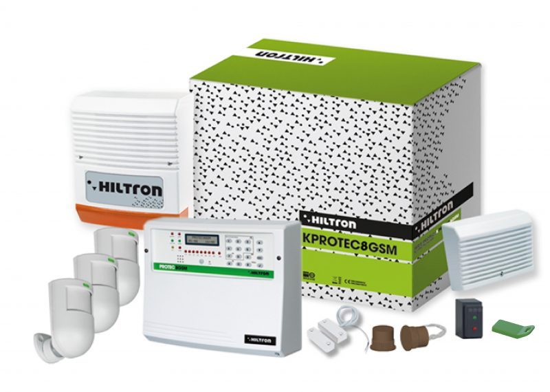 Kit KPROTEC8GSM di Hiltron