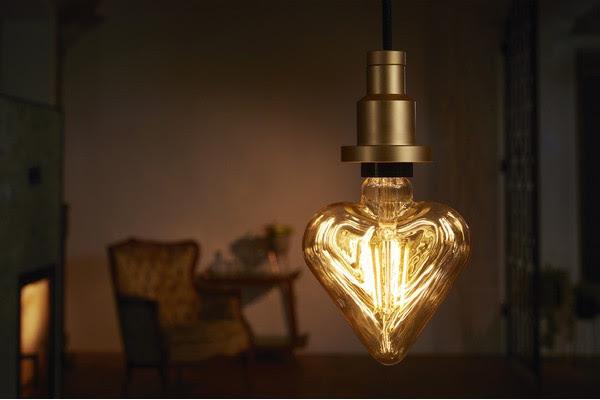 La luce giusta per San Valentino? Accendi la lampadina LED Osram Vintage 1906 Heart