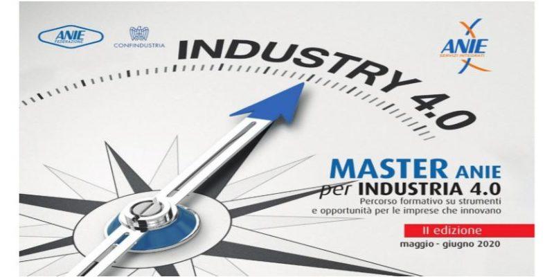 In partenza la seconda edizione del Master ANIE per Industria 4.0
