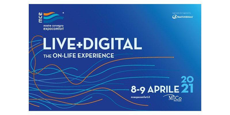 MCE lancia MCE Live+Digital, l'evento che unirà digitale e fisico