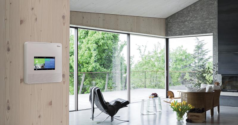 Soluzioni Nice per una casa intelligente, connessa e sicura
