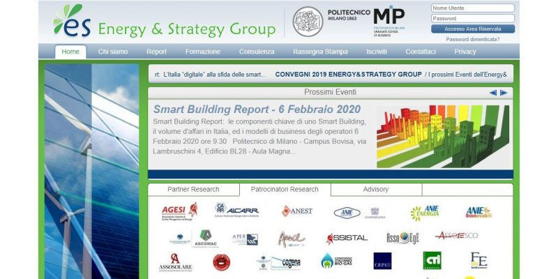 Energy&Strategy Group presenta il primo Smart Building Report 2019