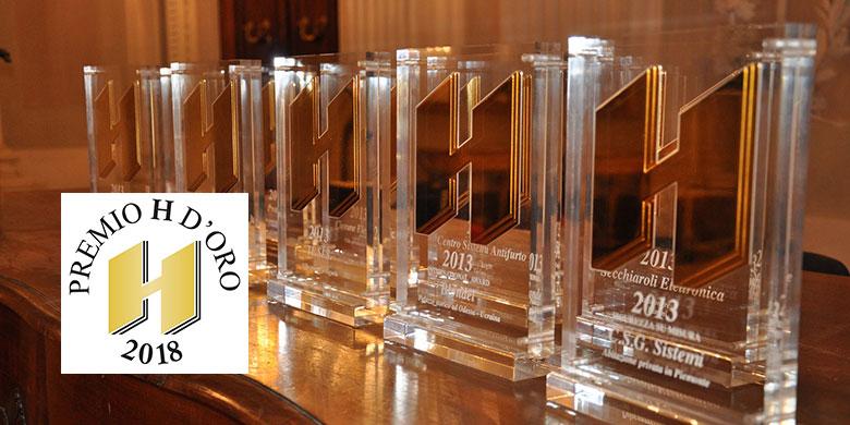 Premio H d'oro,i finalisti dell'Edizione Speciale 2018