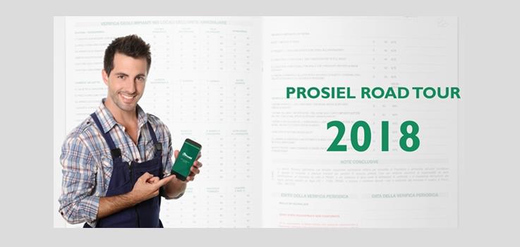 """""""L'evoluzione elettrica digitale"""": al via il Prosiel Roadtour 2018"""