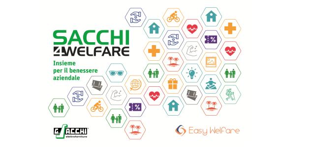 Easy Welfare e Sacchi, insieme per il benessere aziendale
