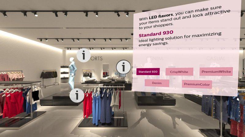 Signify combina realtà virtuale e illuminazione guidando negli acquisti
