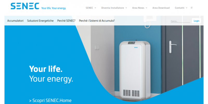 Nuovo sito Senec