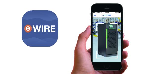 eWIRE: da Socomec l'APP per guidare l'installazione di UPS