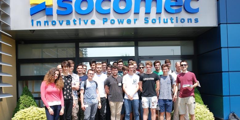 Socomec sostiene le nuove generazioni investendo nella formazione