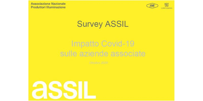 Survey ASSIL: il 2020 chiuderà in negativo per ordini e fatturato