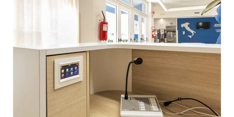Sistema di chiamata domotico AVE per residenze socio assistenziali