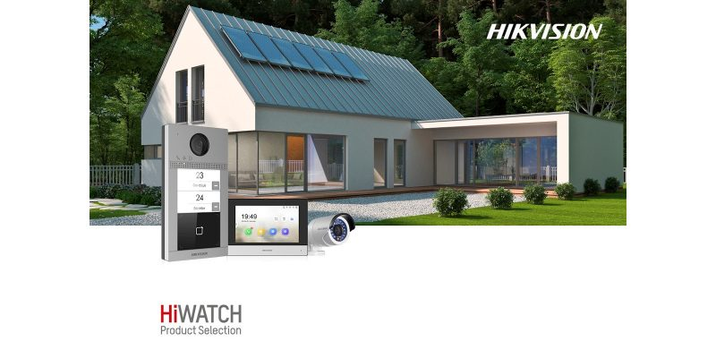 Villa Kit di Hikvision: la sicurezza a 360°